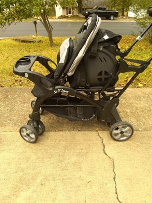 Babytrend Sit and Stand Double Stroller for Sale in Hendersonville, TN