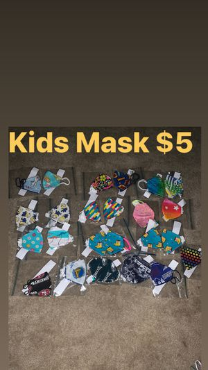 Kids And Toddler Size Mask for Sale in Washington, DC