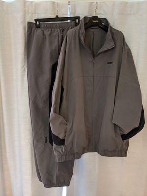 Reebok 3XL Golf Rain Suit Coat and Jacket Gray and Black for Sale in Mason, OH