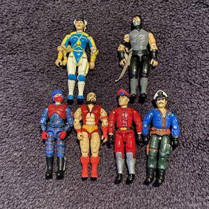 Lot of 6 1991 Hasbro GI Joes for Sale in Trenton, NJ