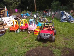 Various bikes and ride ons for Sale in Kalamazoo, MI