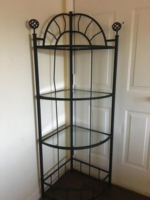 Corner glass shelf for Sale in Hyattsville, MD