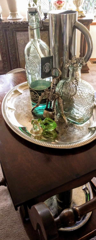 Antique Vintage Amp Mid Century Items Bar Coffee Tea Tray
