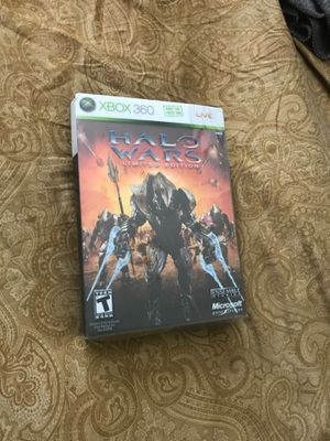 Halo Wars: Limited Edition (Xbox 360) + Halo Wars Genesis comic for Sale in Decatur, GA