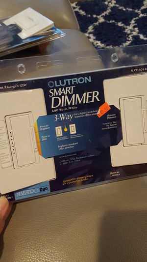 Lutron new 3 way smart dimmers for Sale in Southgate, MI