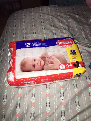 Huggies size 1 for Sale in Kannapolis, NC