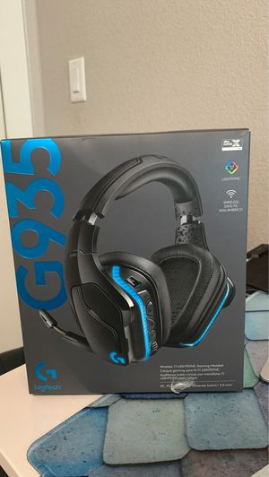 Logitech G935 wireless gaming headphones for Sale in Medford, OR