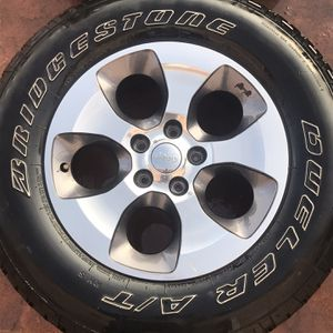 Jeep Tires And Wheels for Sale in Englewood, CO