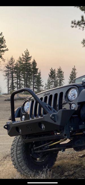 Jeep Wrangler JK JL JT JCR offroad front bumper with mopar fog lights for Sale in Los Angeles, CA