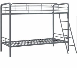 Metal Twin/Twin Bunk Beds with Mattresses for Sale in Austin, TX