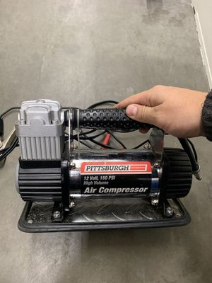 pittsburgh 12 volt 150 psi air compressor for Sale in Bothell, WA