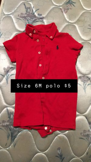 Boys 6m polo rompers all for $25 or $5 each all brand new for Sale in Leeds, AL