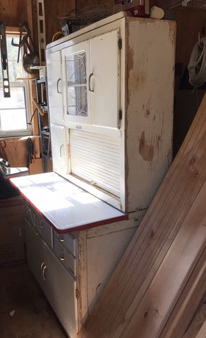 Antique flour cabinet (Marsh) for Sale in Greer, SC