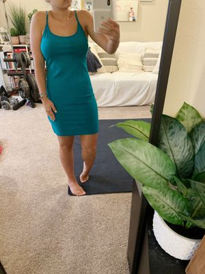 Teal cotton dress for Sale in Riverview, FL