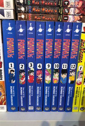 Ranma 1/2 books for Sale in Addison, IL