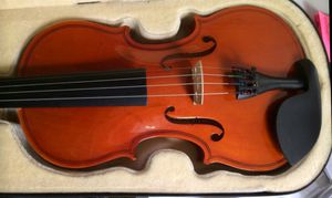 Violin Crescent 4/4 with Extra Strings, Plus Shoulder Rest and Crescent MT-21 Tuner for Sale in Lanham, MD