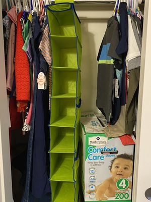 Hanging Shoe/clothes organizer for closet for Sale in Tolleson, AZ