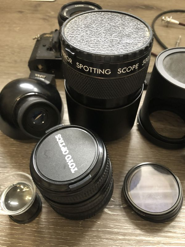 Canon film camera package