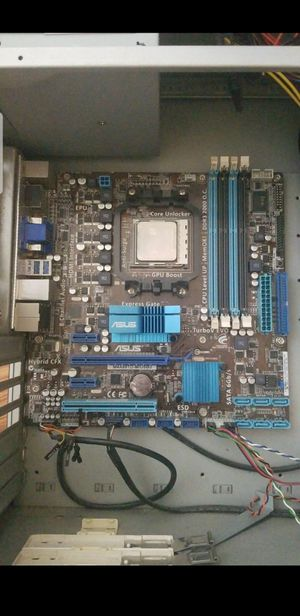 Pc case, motherboard, cpu and power supply for Sale in San Diego, CA