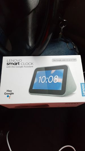 Lenovo smart clock with Google Assistant for Sale in Channelview, TX