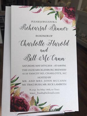 Wedding Invitations for Sale in Miami, FL