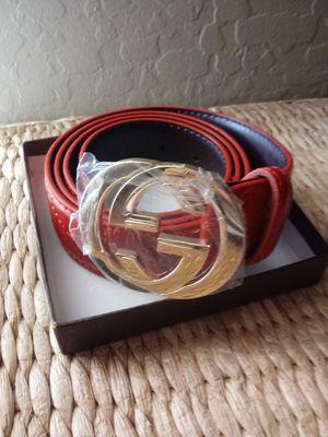 Red Gucci belt for Sale in Phoenix, AZ