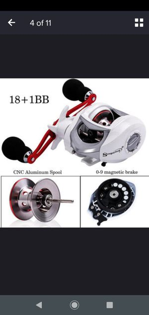 Brand new fishing reel left hand save on your time to get here obo for Sale in Pharr, TX