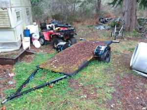 Tow behind toy hauler for Sale in Eatonville, WA