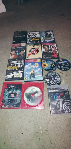 14 games ps2 and ps3 for Sale in Seattle, WA