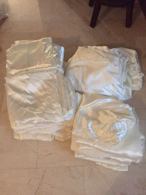 Lot of 35 silk material fabric covers for Sale in Parkland, FL