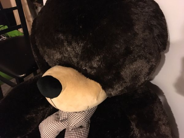 Large stuffed bear