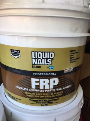 New 3 buckets Liquid Nails $25 each for Sale in Tolleson, AZ