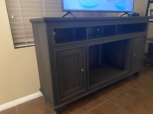 Tv stand wood for Sale in Phoenix, AZ