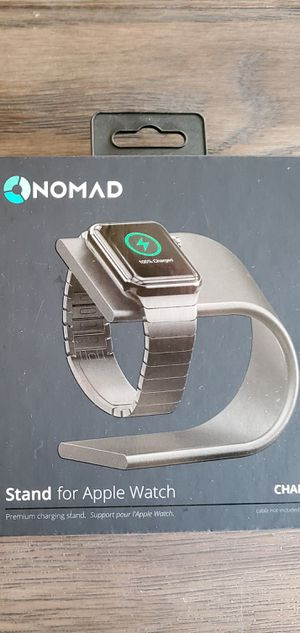Nomad Space Gray Charging Stand for Apple Watch for Sale in Longview, TX