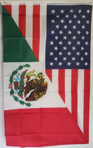 Usa/ Mexico flag for Sale in Colton, CA