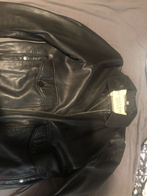 Authentic Burberry leather jacket for Sale in San Diego, CA