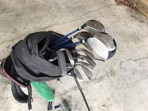Golf clubs and bag for Sale in Alexandria, VA