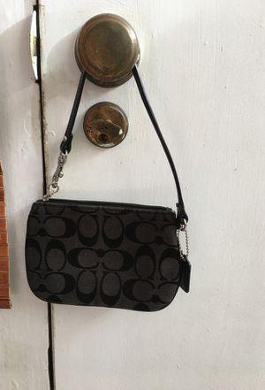 Black coach wristlet for Sale in San Francisco, CA