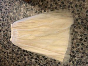 Maxi skirt. Tulle skirt. Wedding skirt. Wedding dress for Sale in Buena Park, CA