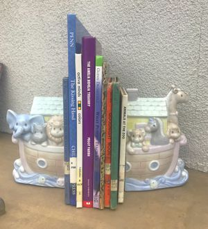 Vintage Precious Moments Noah's Ark Bookends for Sale in Los Angeles, CA