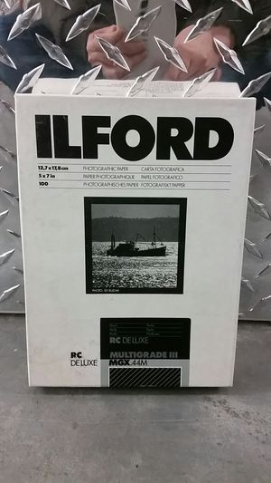 Ilford photo paper 5x7 100 sheets pearl for Sale in Portland, OR