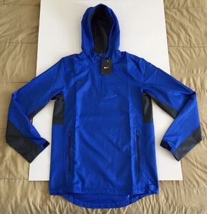 Nike Royal Blue Vented Athletic Windbreaker Hoodie Jacket Mens Sz Small NEW NWT for Sale in Tempe, AZ