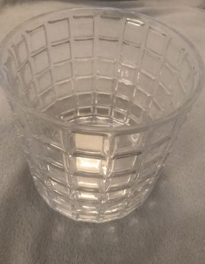 New Pretty glass container / candle holder for Sale in Sterling, VA