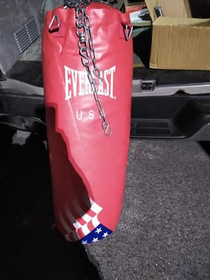 Everlast Boxing bag for Sale in Bloomingdale, IL
