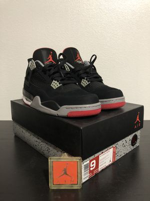Jordan 4 BLACK CEMENT for Sale in Carson, CA