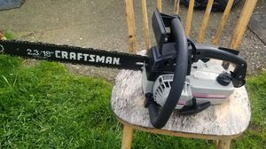 Vintage Craftsman Chainsaw for Sale in Portland, OR