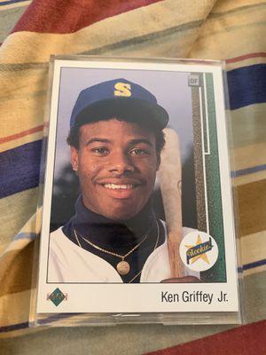 Ken Griffey Jr Rookie Card Baseball Card Upper Deck for Sale in Burbank, CA