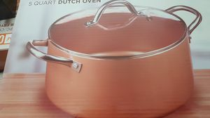 Parini copper 5 quart Dutch Oven Pot for Sale in Bothell, WA