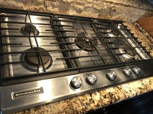 Kitchen Aid gas cooktop range 36' for Sale in San Diego, CA