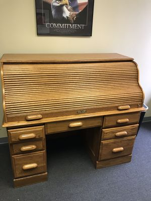 Roll top desk for Sale in Peoria, IL